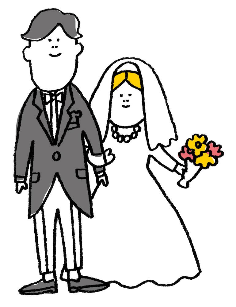 鶴岡市WEBイラスト_03_結婚